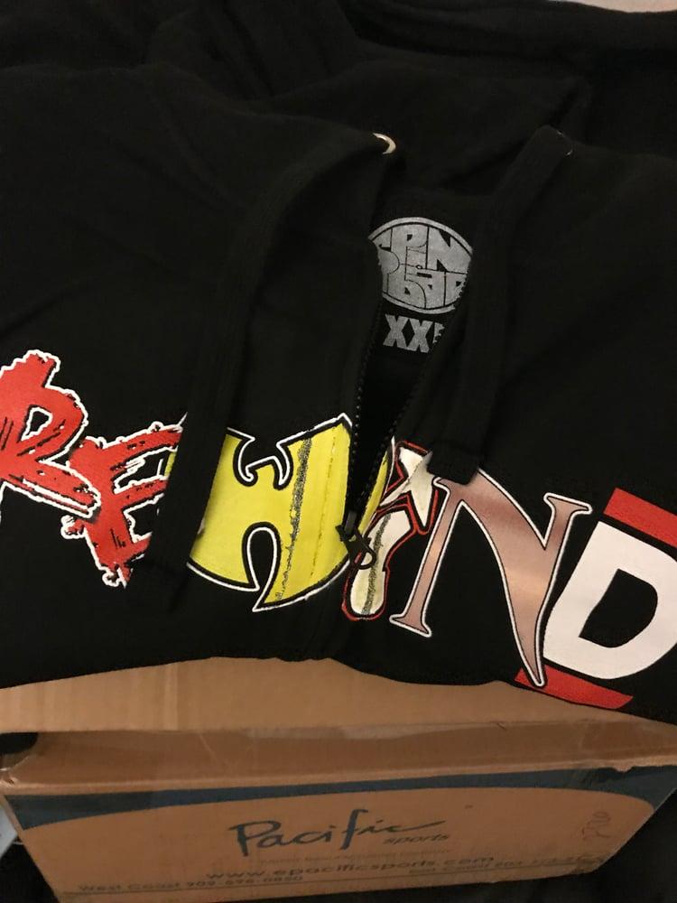 "Image of Spinbad ""REWIND"" ZIP-UP Hoodie"