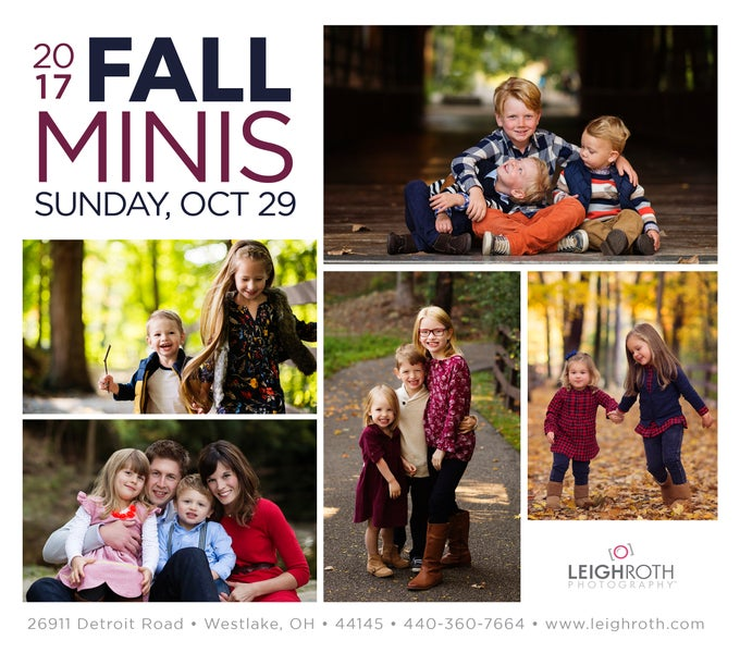 Image of 2017 Fall Mini Sessions - Oct 29