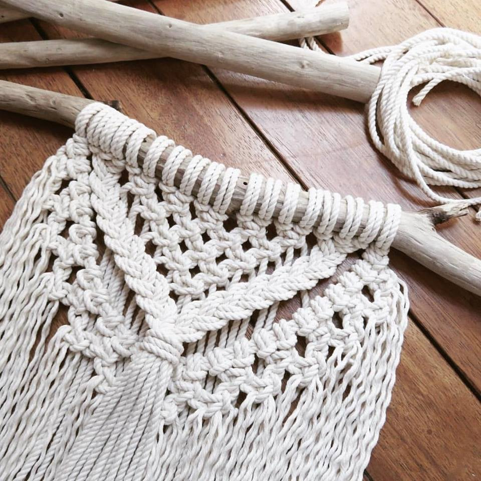 Image of DIY macrame wallhanging kit