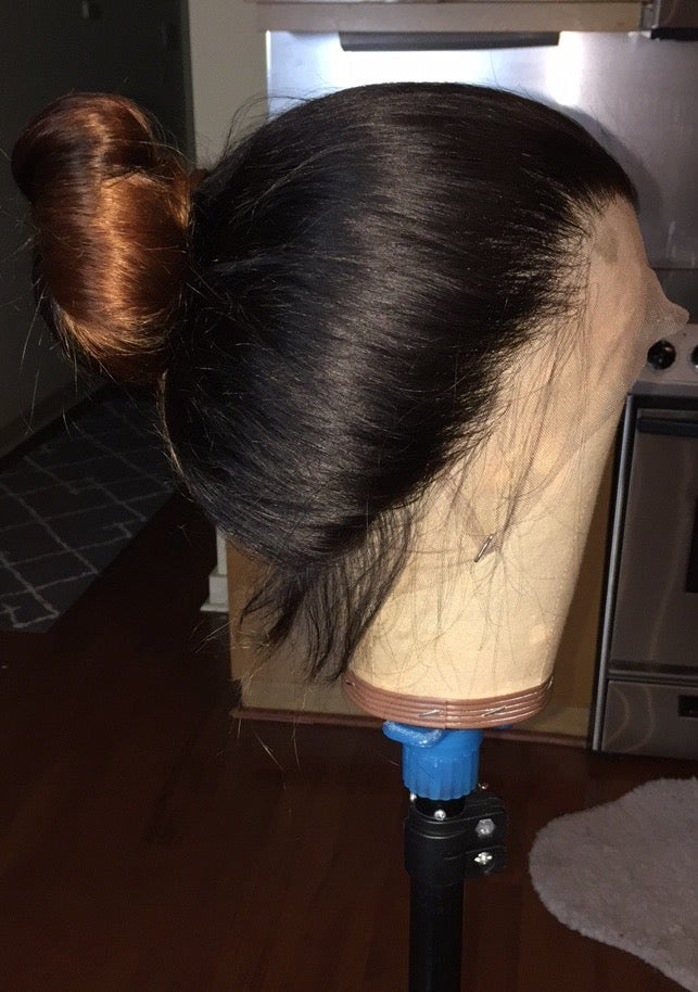 """Image of Brazilian Body Wave Ombre' 22"""" Custom 360 Lace Frontal Wig!"""