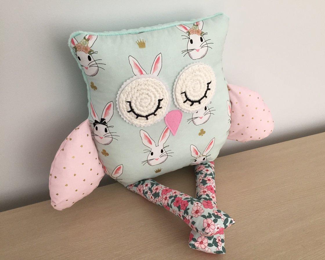 Image of Decor Owl Cushion - Bonnie