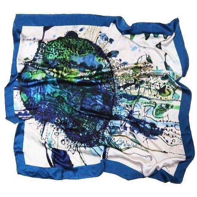 Image of John Olsen Scarf: Customised scarf also available