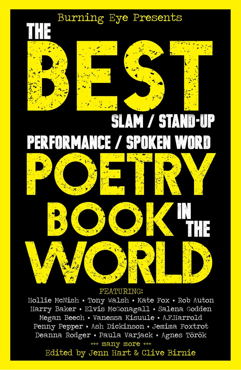 Image of The BEST Poetry Book in the World edited by Jenn Hart and Clive Birnie