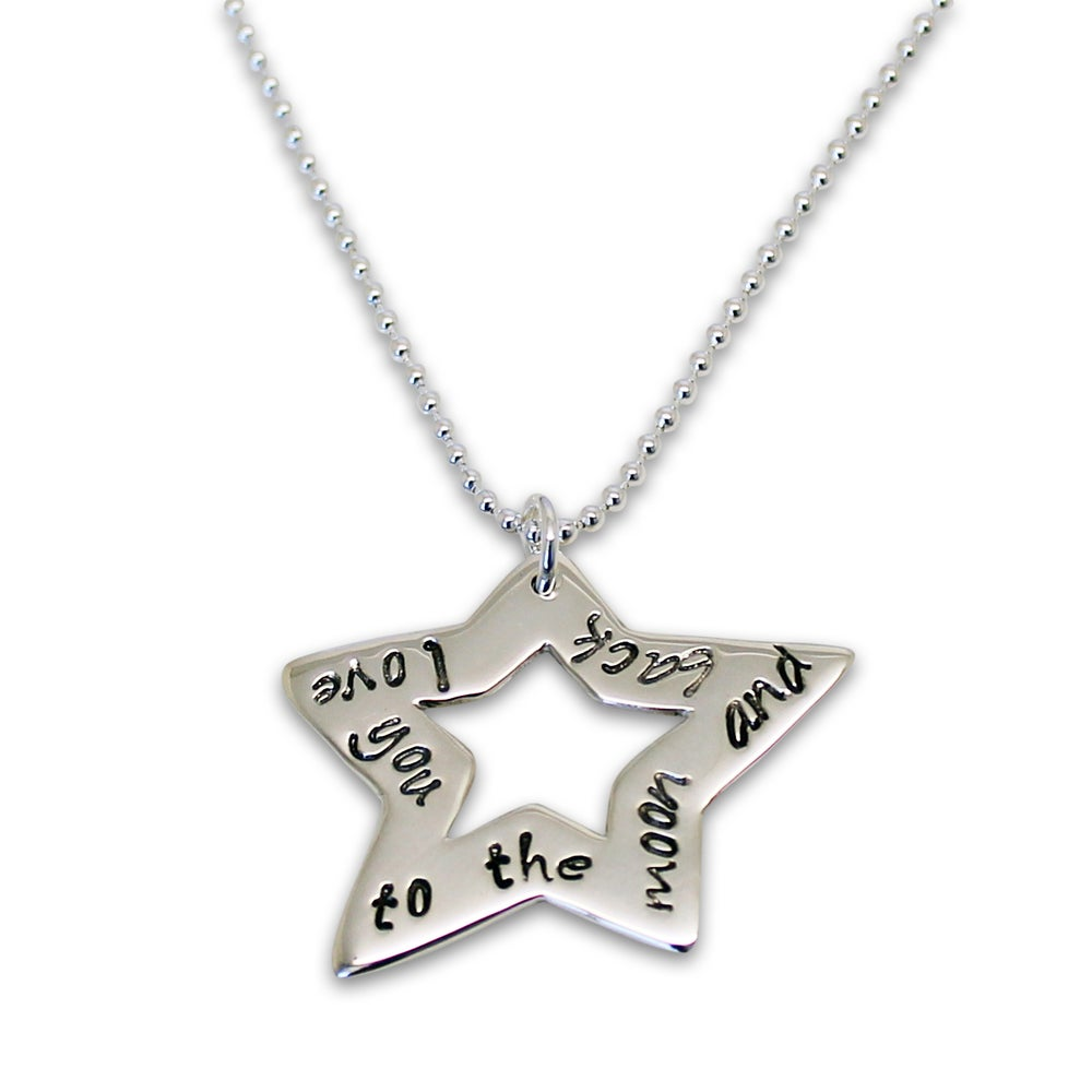 "Image of Personalised ""Star of Love"" Necklace"