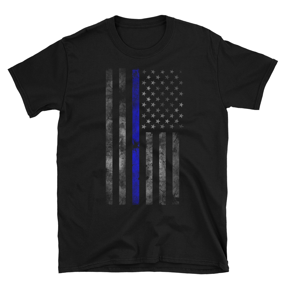 Image of Be Brave - Classic Flag Tee