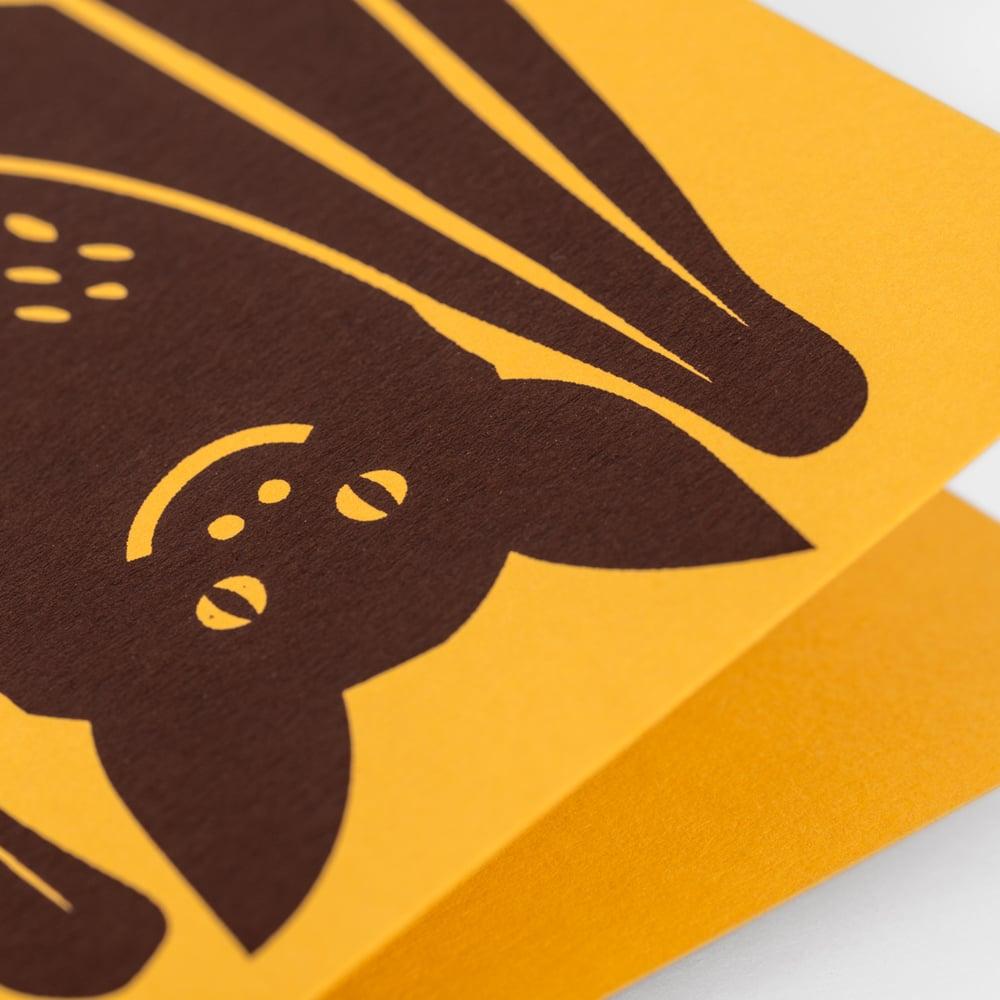 Image of Bat Card
