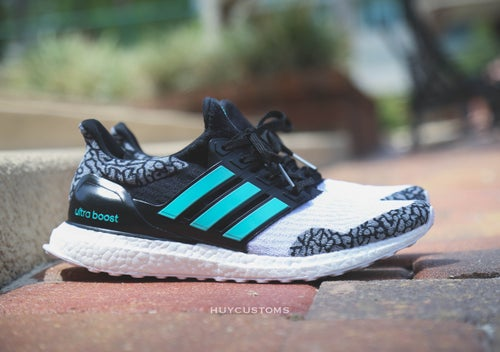 "Image of Ultra boost ""atmos"" inspired custom"