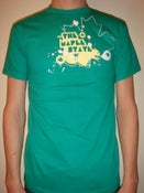 Image of kelly green maple leaf t-shirt