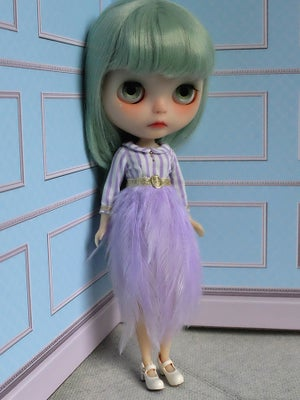 Image of Lounging Linda ~ Feather Dress ~ Lilac