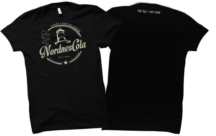 Image of Nordnescola t-skjorte.