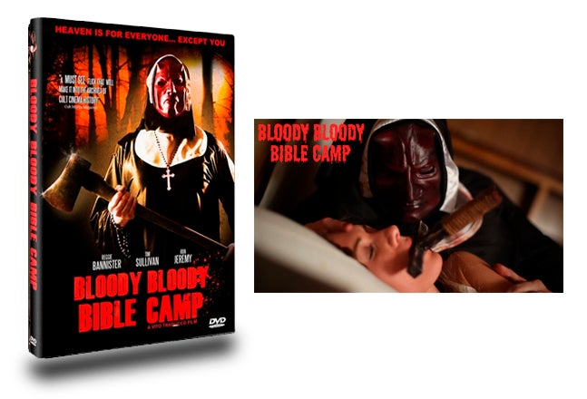 Image of Bloody Bloody Bible Camp DVD (With Exclusive Movie Still signed by Actress Jessica Sonneborn)