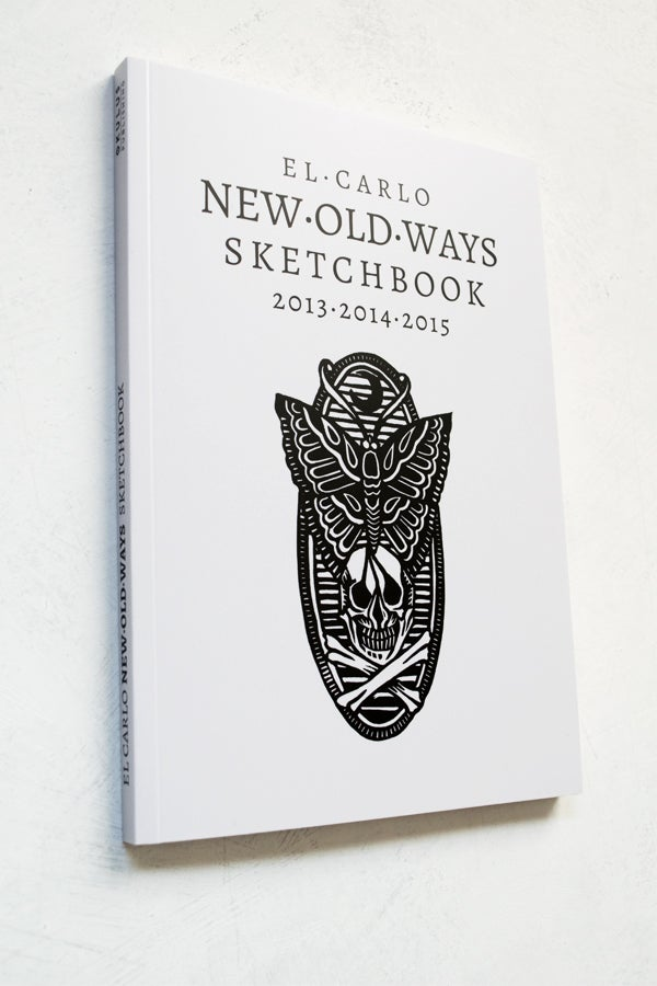 New Old Ways sketchbook by El Carlo  - proyecto eclipse