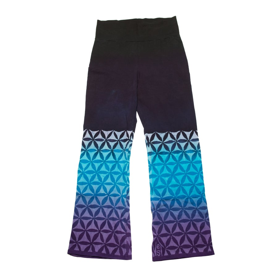 Image of Flower of Life Yoga Pants