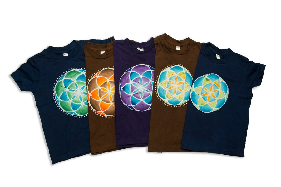 Image of Seed of Life Toddler and Youth Shirts