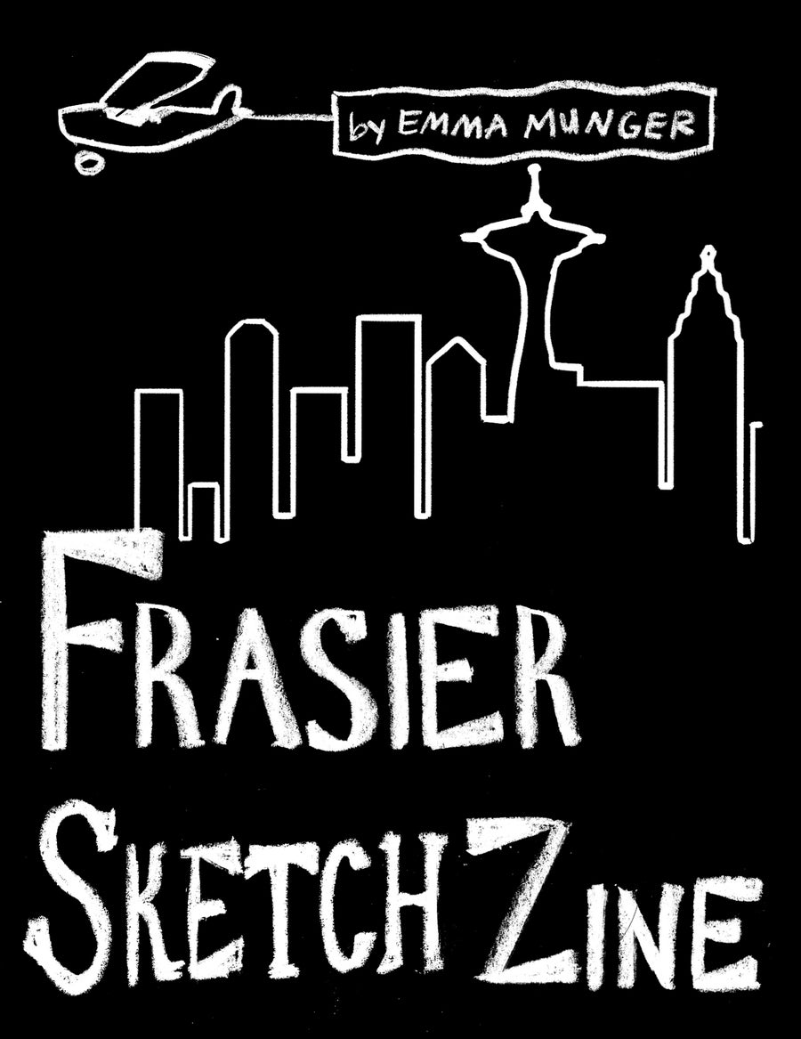 Image of Frasier Sketch Zine