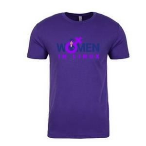 Image of Purple Crew - T Shirt