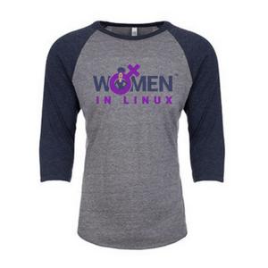 Image of Navy/Heather - Raglan T Shirt