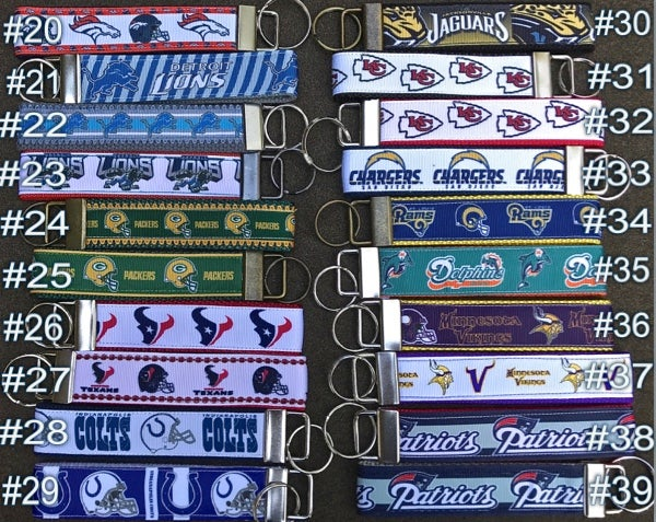 Image of NFL Team KeyChain FOBs