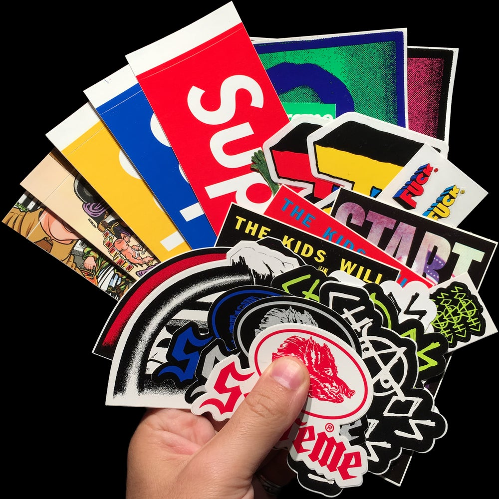 Image of 2008 Stickers (Kermit, Sean Cliver, Chaos, R. Crumb, Bronson,Only the Strong)