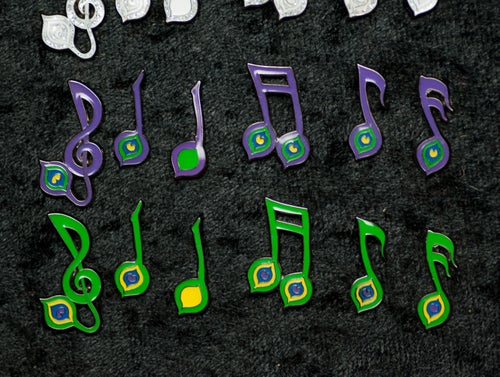 Image of Peacoak Music Notes