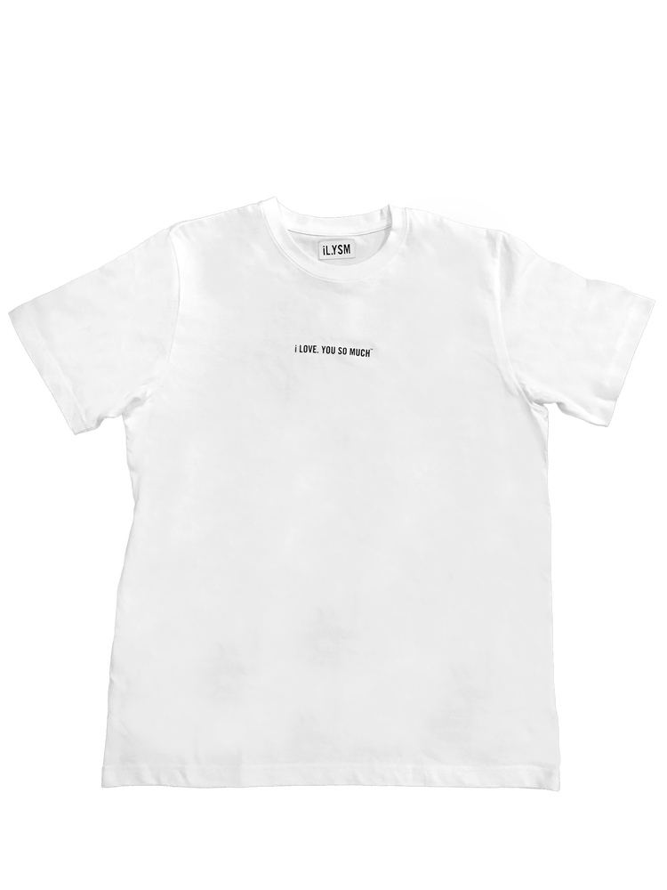 Image of iL.YSM Confession Tee White