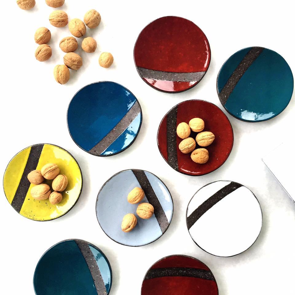 Image of Piattino   Collezione Folk [on the table]