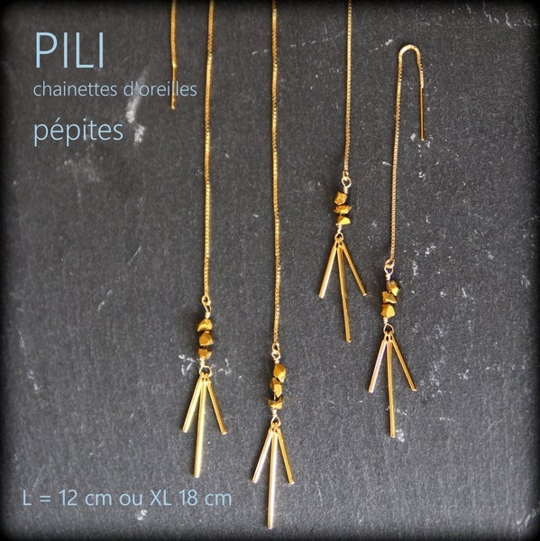 Image of PILI chainettes