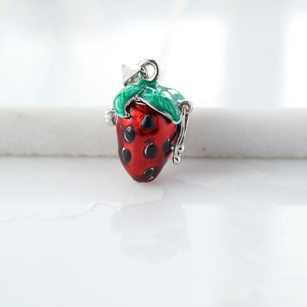 Image of Strawberry locket