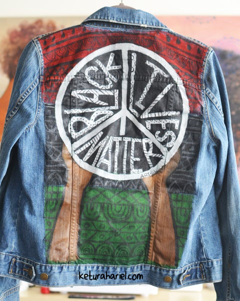 Image of Black Lives Matter Denim Jacket