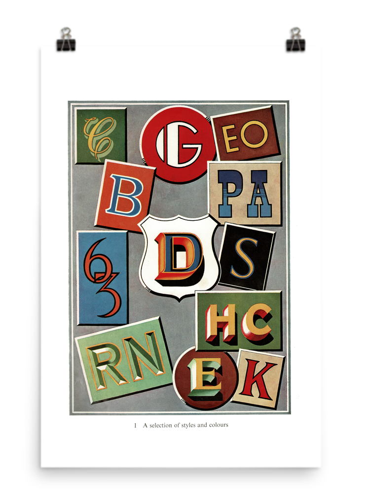 Image of The Art of Sign Writing Poster