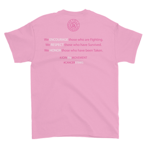Image of We Wont Be Stopped Breast Cancer Tee in Black or Pink
