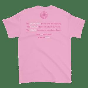 Image of Unisex We Wont Be Stopped Breast Cancer T-Shirt