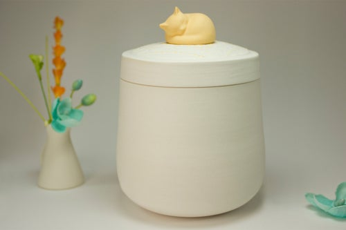 Image of Darling Marmalade Pet Urn