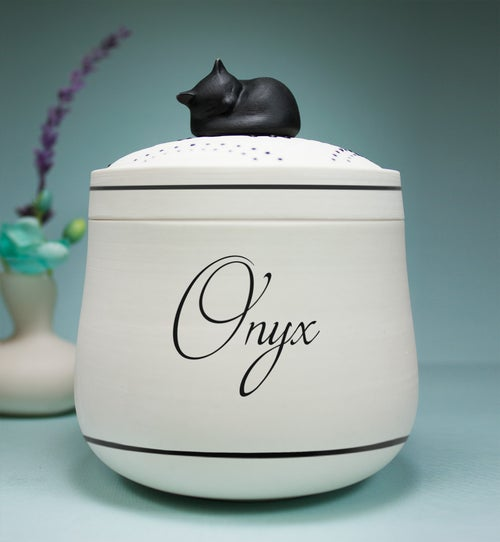 Image of Darling Ebony Pet Urn