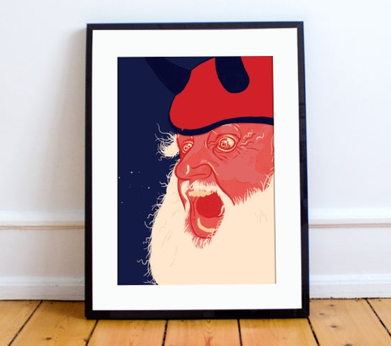 Image of Didi the Devil print A4 - By Matthew Burton