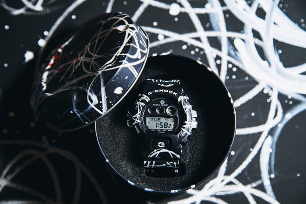 Image of Casio G-Shock FUTURA Graffiti Limited Edition Signature series