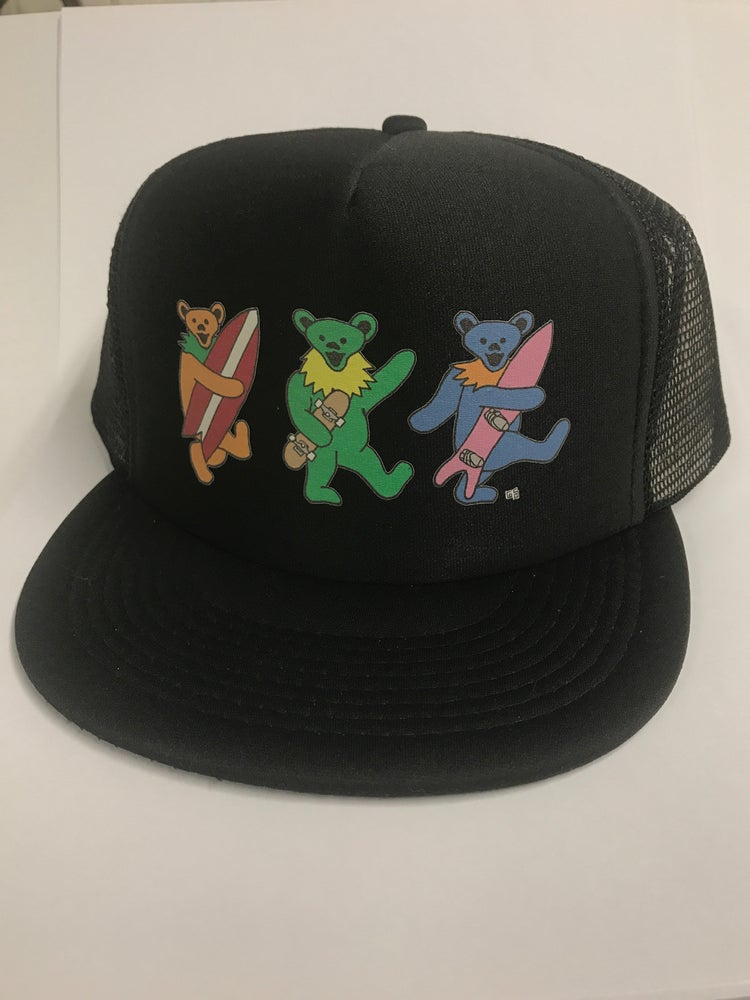 Image of Shredder bear trucker hat