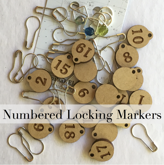 Image of Numbered Locking Markers