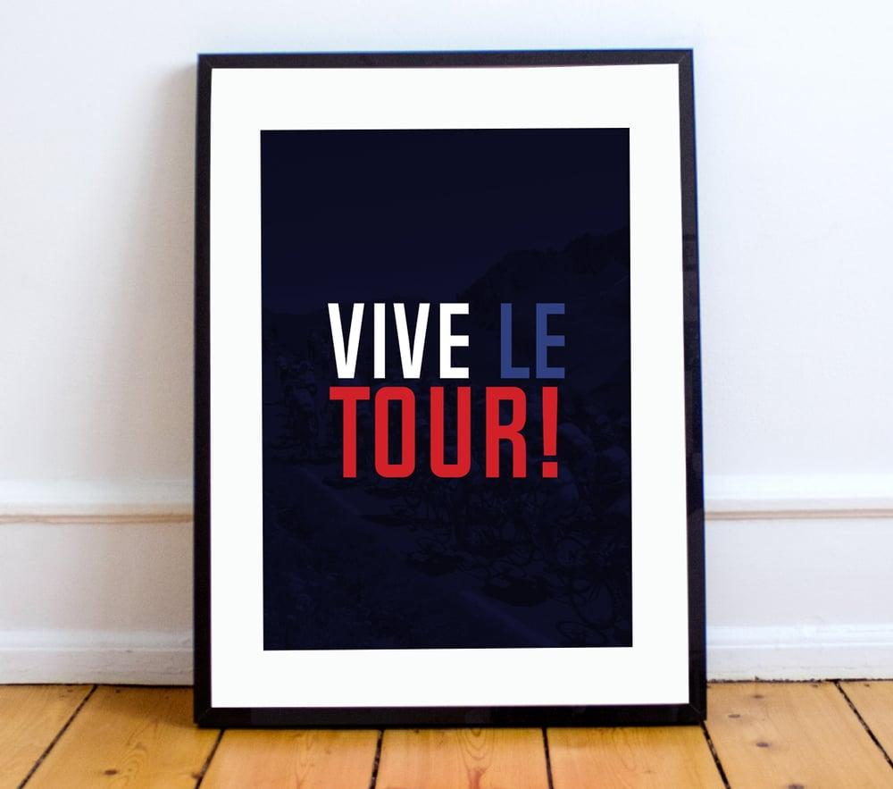 Image of VIVE LA TOUR print - A4