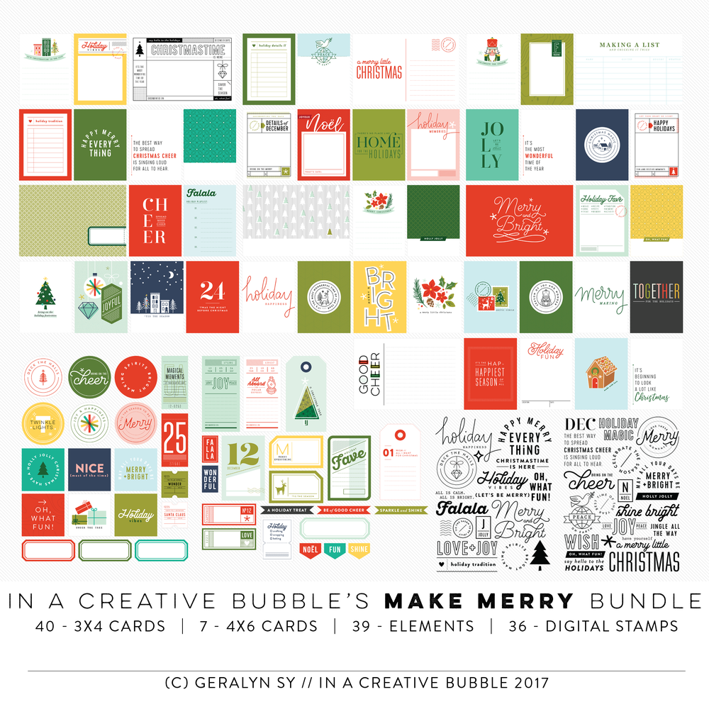 Image of Make Merry Bundle (Digital)