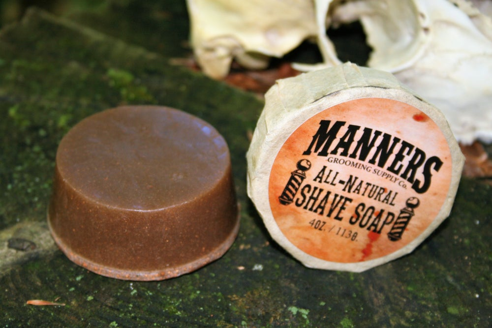 Image of SHAVE SOAP - 4oz. All Natural