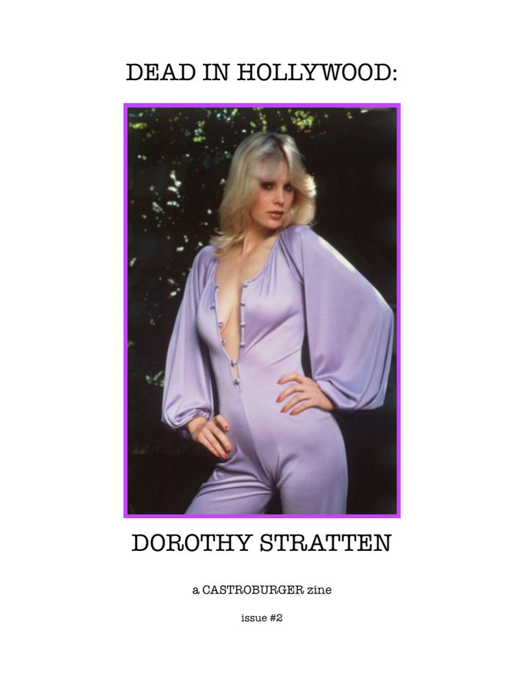 Image of Dead in Hollywood: Dorothy Stratten (issue #2)