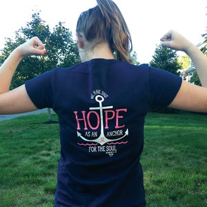 Image of Womens V-Neck Hope T-Shirt