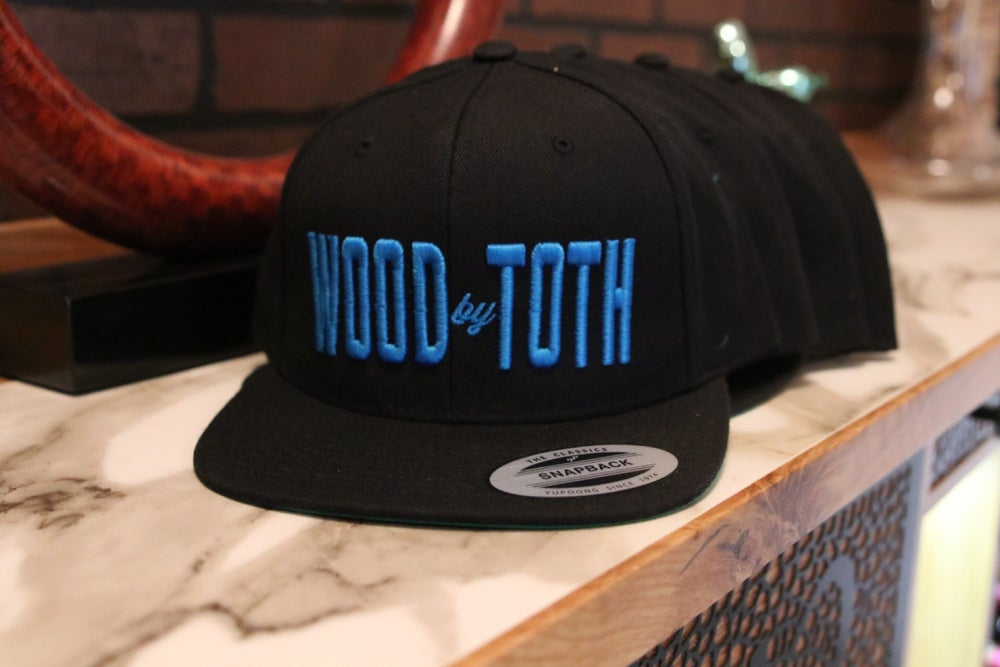 Image of Wood By Toth Snapback Hat