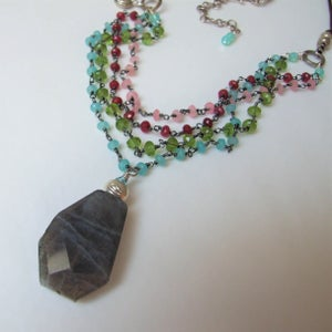 Image of Colorful Celebration Necklace
