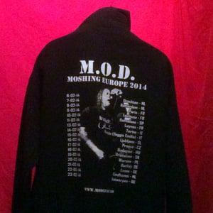 Image of MOD Legacy Moshing Europe 2014 Pullover Hoodie