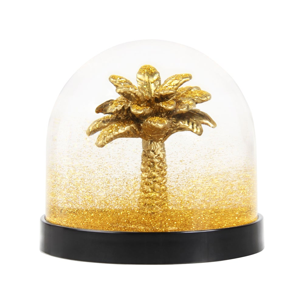 Image of BOULE À NEIGE GOLDEN PALM TREE, &KLEVERING