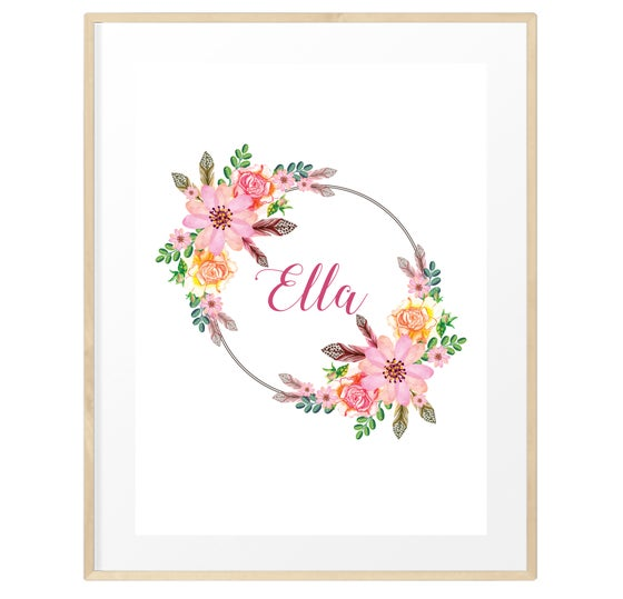 Image of Personalised spring florals
