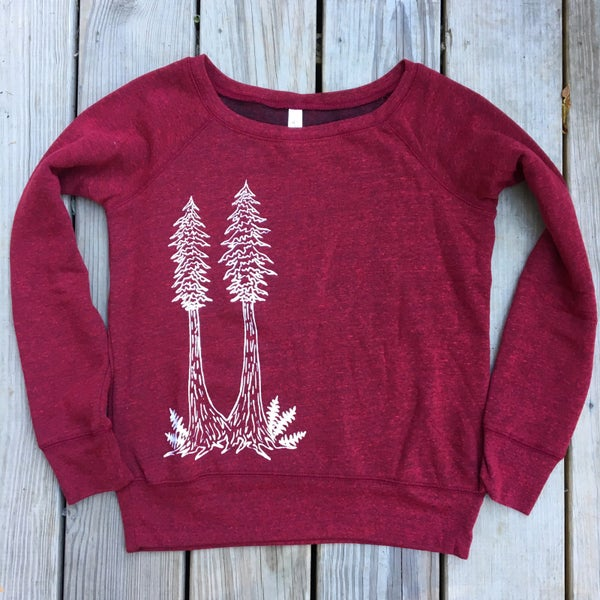 Image of +Redwood twins+ women's sweatshirt