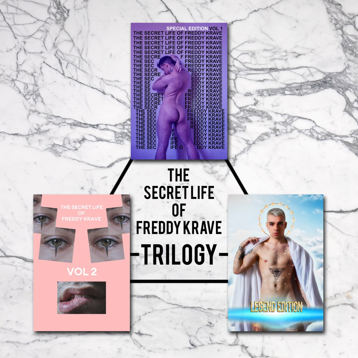 "Image of ""THE SECRET LIFE OF FREDDY KRAVE"" - TRILOGY"